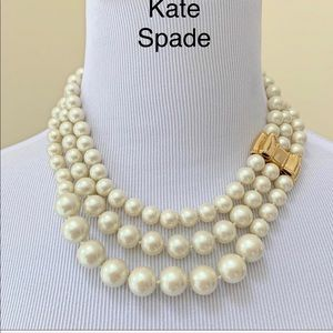 Moon River Pearl Triple Strand Necklace